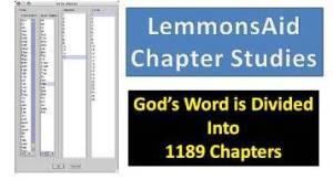Chapter Studies